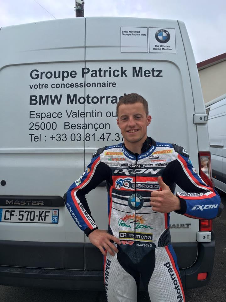 Mathieu GINES Course de côte de Marchaux 2016
